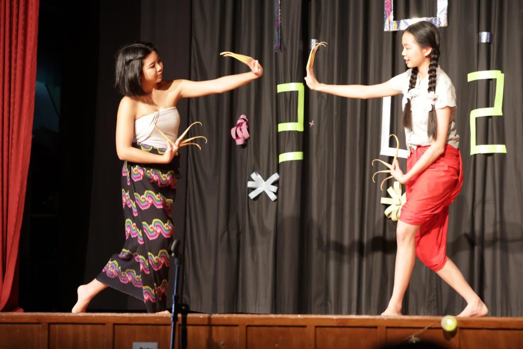 International students performing at the Festival of Culture